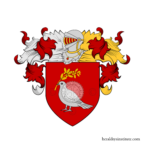 Coat of Arms of family Palumbo (Puglie)