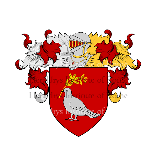 Coat of Arms of family Palumbociccarelli