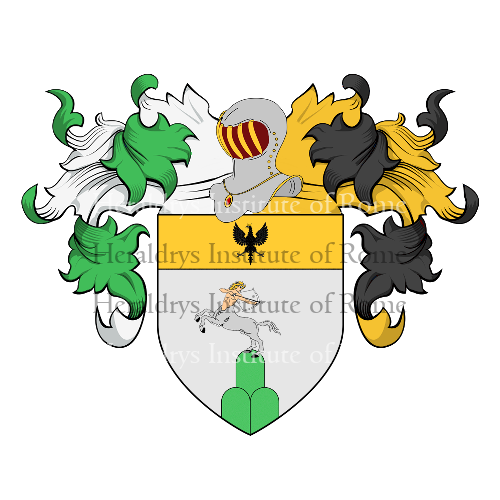 Coat of arms of family Andreola