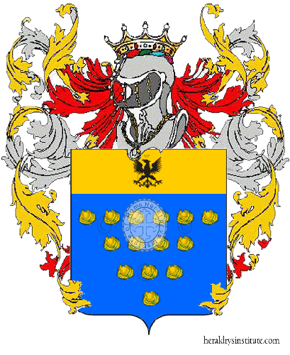 Coat of Arms of family Mondelli