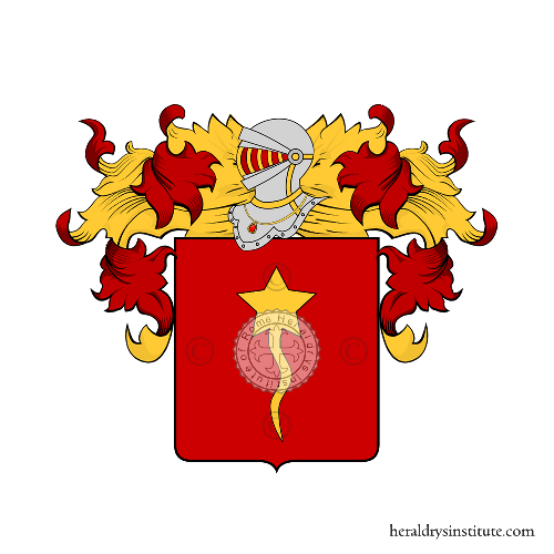 Coat of Arms of family Prosi