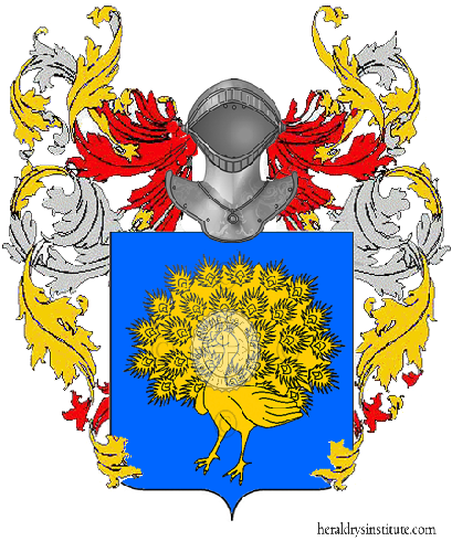 Coat of arms of family Desidero