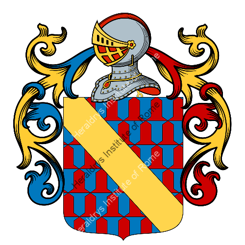 Coat of Arms of family Montelauro
