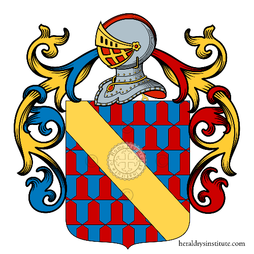 Coat of Arms of family Monteu