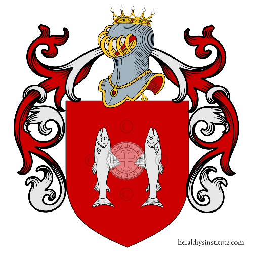 Coat of Arms of family Santo