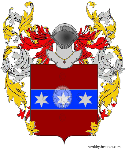 Coat of Arms of family Scapin