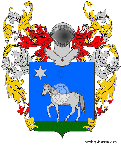 Coat of Arms of family Pariotti