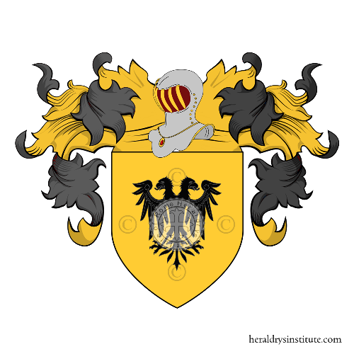 Coat of Arms of family Cignotti