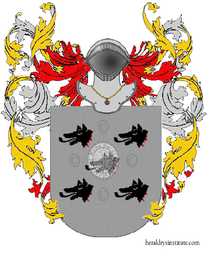 Coat of Arms of family Possa