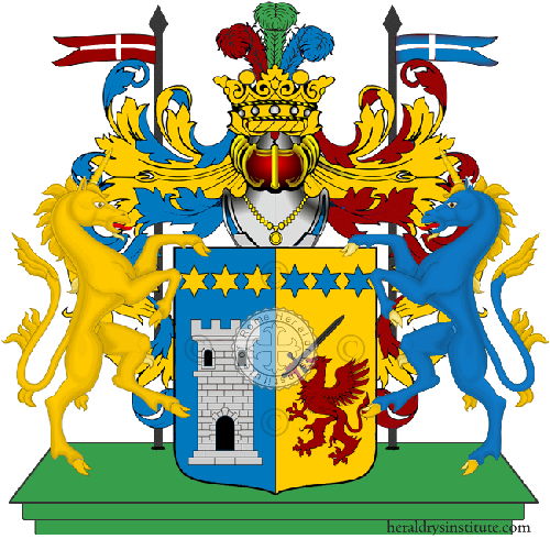 Coat of Arms of family Torregrassa