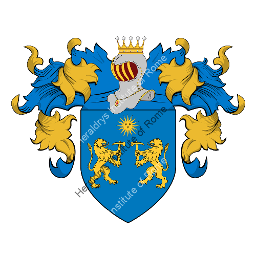 Coat of arms of family Marzo (di)