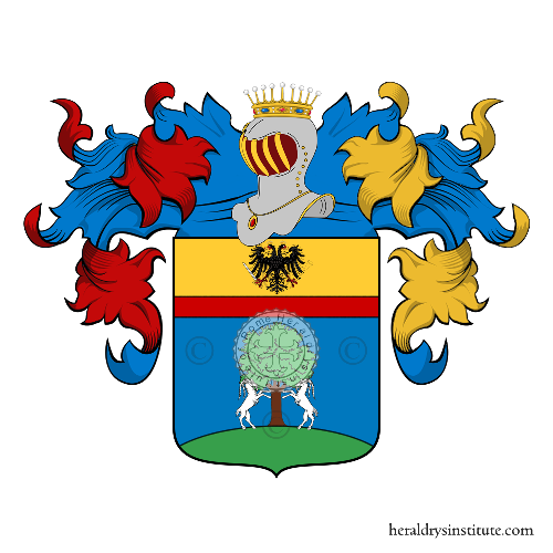 Coat of Arms of family Trombia