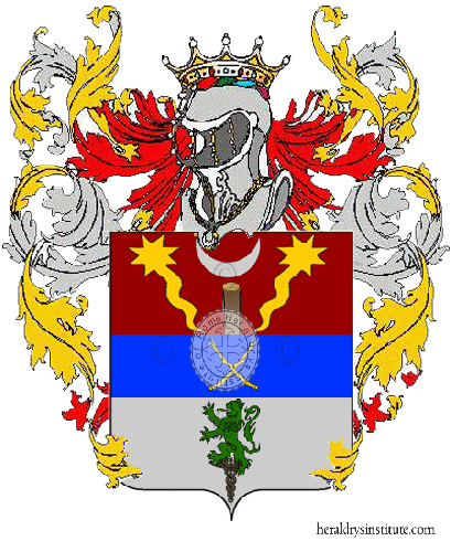 Coat of arms of family Ambrosiali