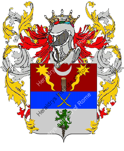 Coat of arms of family Ambrosiano