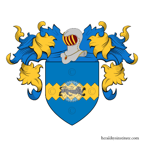 Coat of Arms of family Stagi