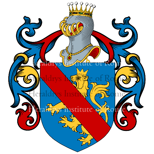 Coat of Arms of family Pazio