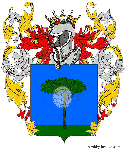 Coat of Arms of family Pompili