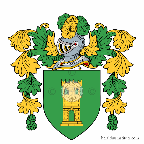 Coat of arms of family Falsaperla