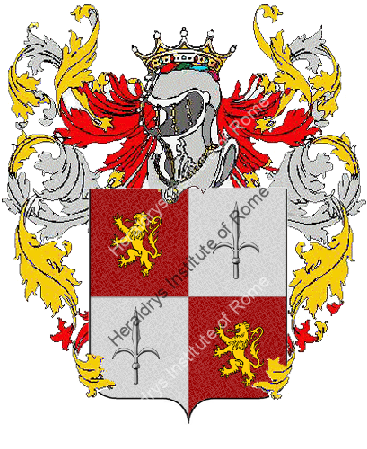 Coat of Arms of family Vescovioi