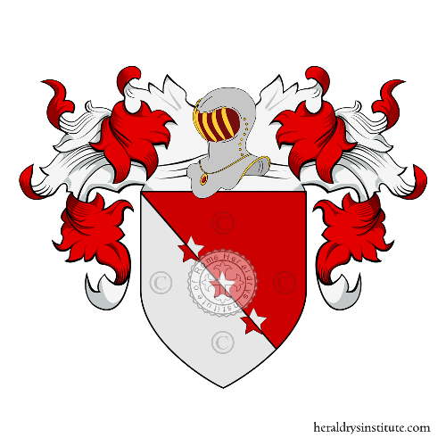 Coat of Arms of family Viretta