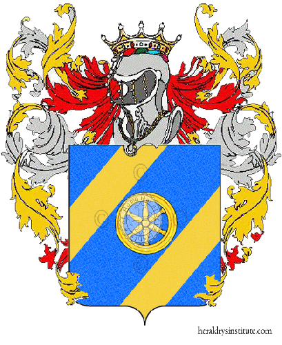 Coat of Arms of family Pezzina