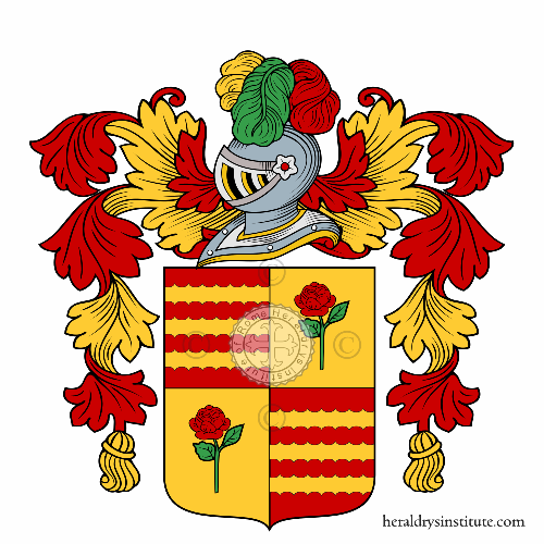Coat of Arms of family Spinace