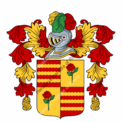 Coat of Arms of family Spinazza