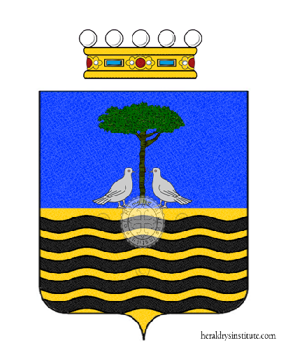 Coat of arms of family Cota