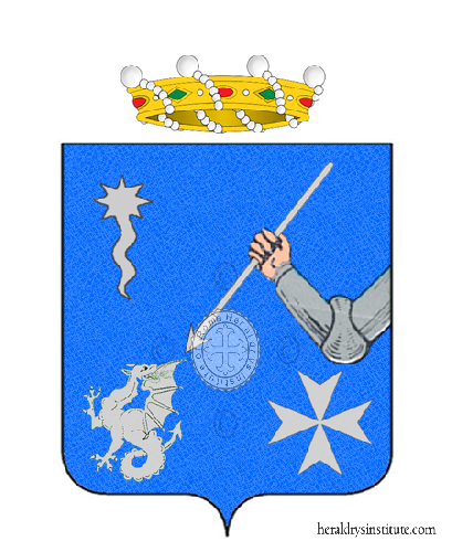 Coat of Arms of family BASIGLIO RIBAUDO