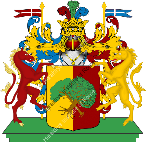 Coat of arms of family Ambi