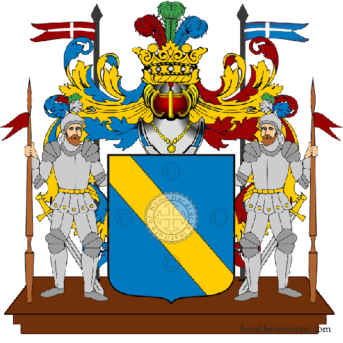 Coat of Arms of family Zelano