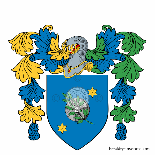 Coat of Arms of family De Mola