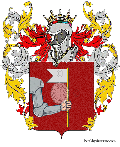 Coat of Arms of family Zattaglia