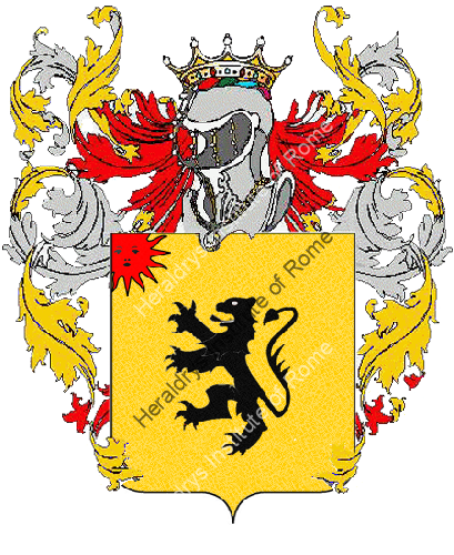 Coat of Arms of family Nasole