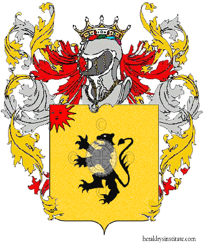 Coat of Arms of family Nasorosso