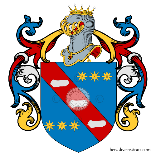 Coat of Arms of family Salzetti