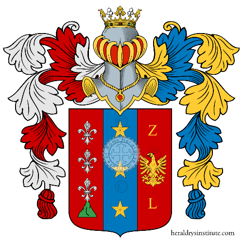 Coat of Arms of family Sanzanelli