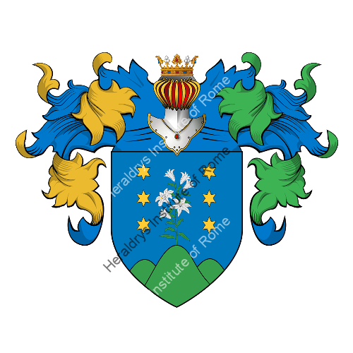 Coat of Arms of family Parina
