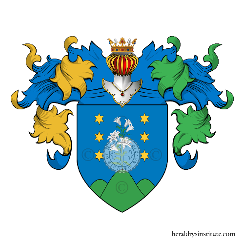 Coat of Arms of family Zarina