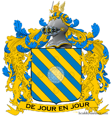 Coat of Arms of family Di Costa