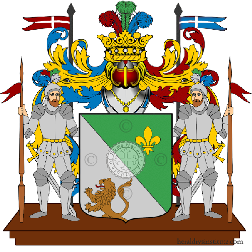 Coat of Arms of family Trioli