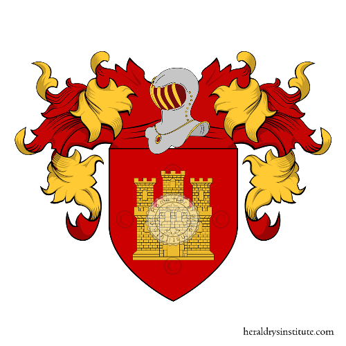 Coat of Arms of family Castelanelli o Castellane