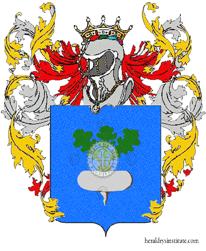 Coat of Arms of family Rapace