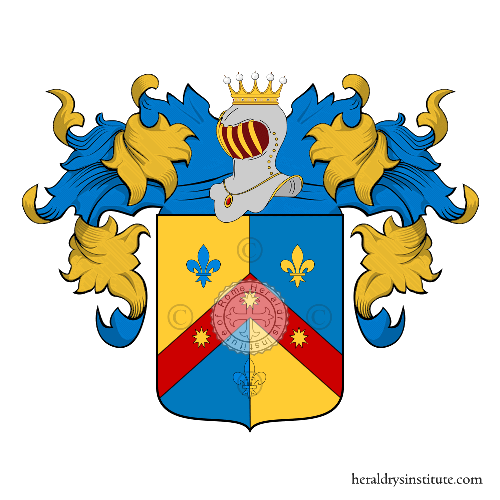 Coat of Arms of family Prunetti