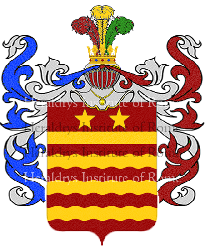 Coat of arms of family Ebarone