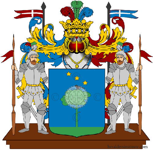Coat of Arms of family Mileto