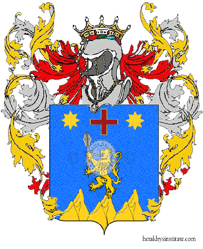 Coat of arms of family Di Massa