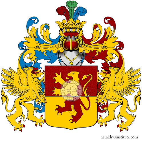 Coat of Arms of family Russo Rugiani