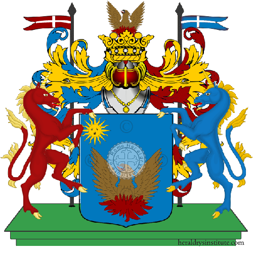 Coat of Arms of family Pizzolito