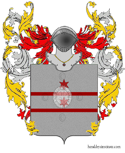 Coat of Arms of family Pettinello